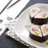 Cuori di Sushi: hosomaki al salmone e avocado