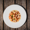 #LocatelliBros / #PopRice con peperone rosso e giallo, pancetta bergamasca e salsa BBQ
